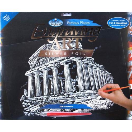 Seškrabovací obrázek- Atény - Cena : 179,- Kč s dph