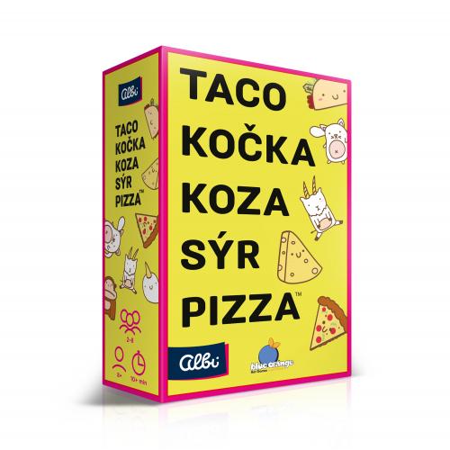 ALBI Taco, kočka, koza, sýr, pizza - Cena : 269,- Kč s dph