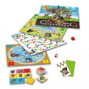 Veselé hry s Krtkem společenská hra - Cena : 295,- Kč s dph