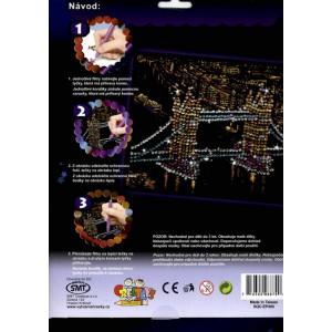 Korálkový obrázek - Tower Bridge - Cena : 99,- Kč s dph