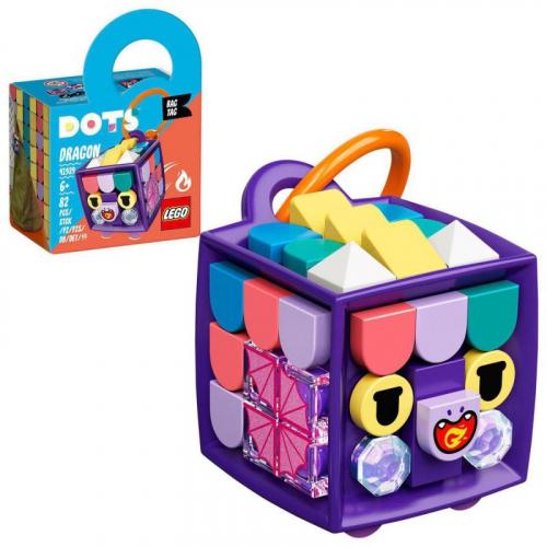 LEGO® DOTS 41939 - Ozdoba na tašku – dráček - Cena : 129,- Kč s dph