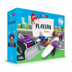 ALBI Kvído - Stavebnice Playstix - vozidla 146 dílků - Cena : 360,- Kč s dph
