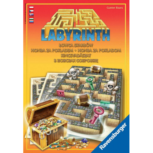 Labyrint Honba za pokladem - Cena : 289,- Kč s dph