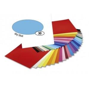 Barevný papír 300g A4- Modrý světlý - Cena : 7,- Kč s dph