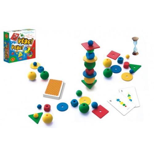 Věže společenská hra v krabici 24,5x25x6cm - Cena : 423,- Kč s dph