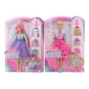 Barbie Princes adventure Princezna - 2 druhy - Cena : 507,- Kč s dph