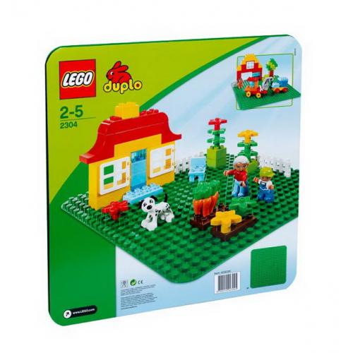 LEGO® DUPLO® 2304 - Veľká podložka na stavanie - Cena : 349,- Kč s dph
