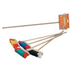 Smeták, 68 cm, Dřevěná Násada - Cena : 123,- Kč s dph