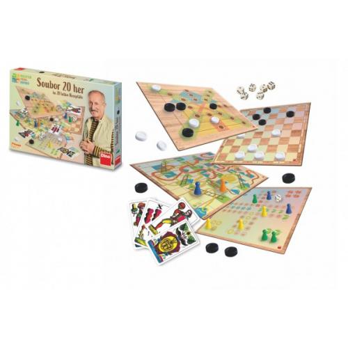 Receptář prima nápadů - Soubor 20 her ke 20 letům Receptáře společenská hra v krabici 34x23x3,5cm - Cena : 323,- Kč s dph