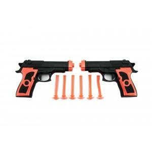 Pistole 2ks na přísavky plast 15cm - Cena : 80,- Kč s dph