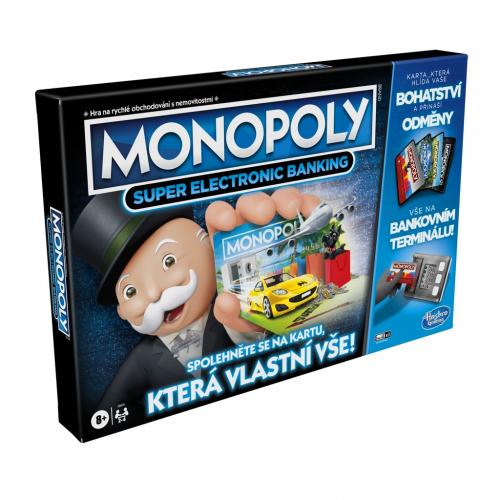 Monopoly Super elektronické bankovnictví - Cena : 758,- Kč s dph