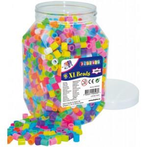 Zažehlovací korálky XL, 2000 ks, neonové barvy - Cena : 539,- Kč s dph