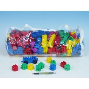 Stavebnice LORI 250 plast 250ks v plastové tašce - Cena : 362,- Kč s dph