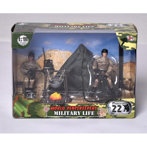 Vojenská sada s figurokou - 2 druhy - Cena : 155,- Kč s dph