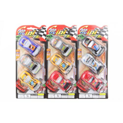 Sada závodních autíček - Cena : 35,- Kč s dph