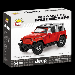Cobi 24114  Jeep Wrangler Rubicon 1:35 - Cena : 253,- Kč s dph