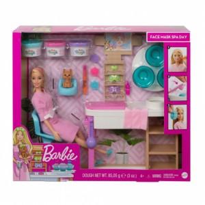 Barbie salón krásy herní set s běloškou - Cena : 1259,- Kč s dph