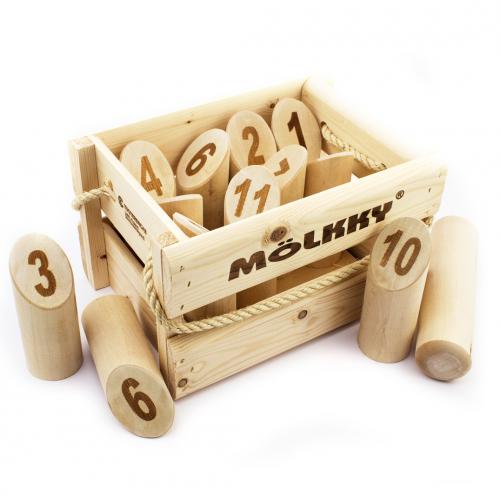 Molkky - Dřevěné kuželky - Cena : 779,- Kč s dph