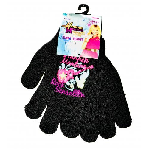 Dětské rukavice Hannah Montana - černá - Cena : 77,- Kč s dph