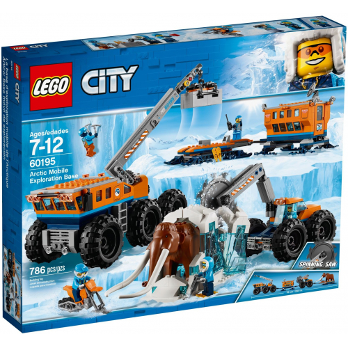 LEGO® City 60195 - Mobilná polárna stanica - Cena : 1990,- Kč s dph
