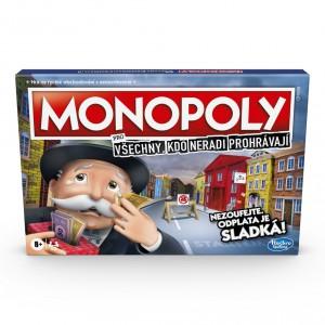 Monopoly pro všechny, kdo neradi prohrávají CZ - Cena : 519,- Kč s dph