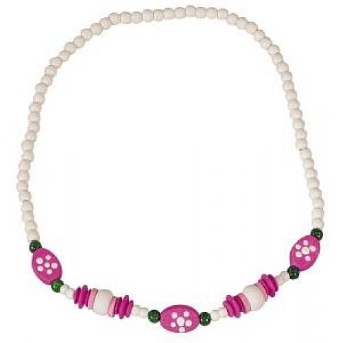 Dětský náhrdelník bílý - Cena : 49,- Kč s dph