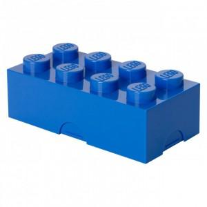 LEGO® box na svačinu 100 x 200 x 75 mm - modrá - Cena : 232,- Kč s dph
