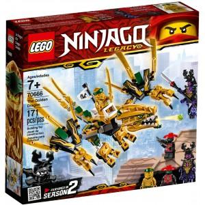 LEGO® Ninjago 70666 - Zlatý drak - Cena : 387,- Kč s dph