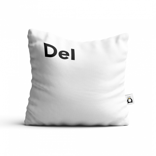 Polštář klávesa - DEL - Cena : 449,- Kč s dph