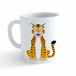 Hrnček Veselá zvieratká - Tigrík - Cena : 99,- Kč s dph