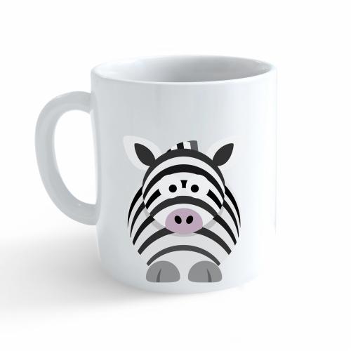 Hrnek Veselá zvířátka - Zebra - Cena : 99,- Kč s dph