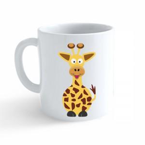 Hrnek Veselá zvířátka - Žirafa - Cena : 99,- Kč s dph