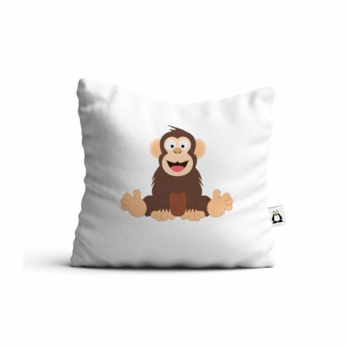 Vankúš Veselá zvieratká - Šimpanz - Cena : 449,- Kč s dph
