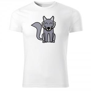 Tričko Tučňák a jeho kamarádi - #8 vlk obecný, vel. 134 cm/8 let - Cena : 249,- Kč s dph