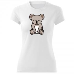 Dámské Tričko Tučňák a jeho kamarádi - #14 koala medvídkovitý, vel. M - Cena : 249,- Kč s dph