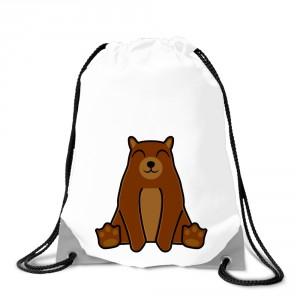 Batoh na záda Tučňák a jeho kamarádi - #9 medvěd hnědý - Cena : 129,- Kč s dph