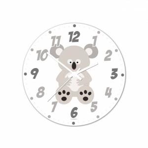 Nástenné hodiny Veselá zvieratká - Koala - 30 cm - Cena : 499,- Kč s dph