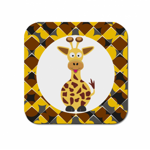 Podtácek Veselá zvířátka - Žirafa - Cena : 29,- Kč s dph