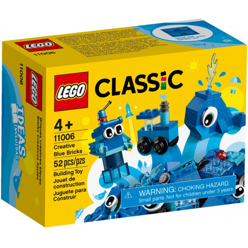 LEGO® Classic 11006 -  Modré kreativní kostičky - Cena : 139,- Kč s dph