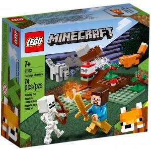 LEGO® Minecraft 21162 -  Dobrodružství v tajze - Cena : 249,- Kč s dph