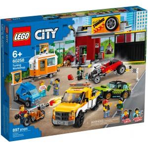 LEGO® City 60258 - Tuningová dielňa - Cena : 1977,- Kč s dph