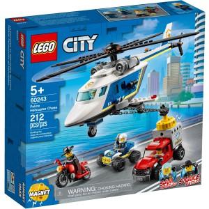 LEGO® City 60243 - Pronásledování s policejní helikoptérou - Cena : 599,- Kč s dph