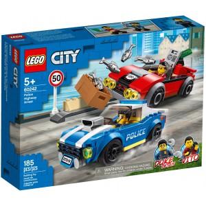 LEGO® City 60242 - Policajná naháňačka na diaľnici - Cena : 389,- Kč s dph