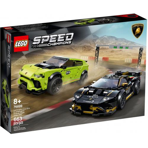 LEGO® Speed Champions 76899 - Lamborghini Urus ST-X a Lamborghini Hur - Cena : 1259,- Kč s dph
