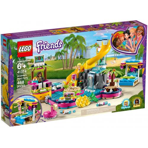 LEGO® Friends 41374 - Andrea a party u bazénu - Cena : 979,- Kč s dph