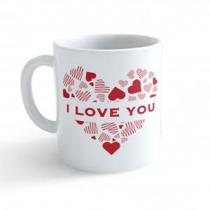 Hrnek Valentýn - I Love You - Cena : 99,- Kč s dph
