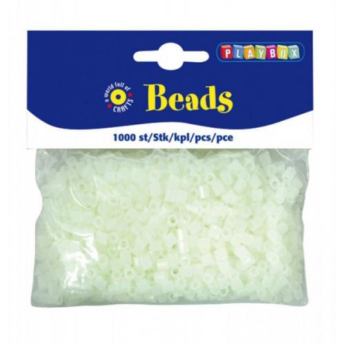 Neonové zažehlovací korálky - Cena : 146,- Kč s dph