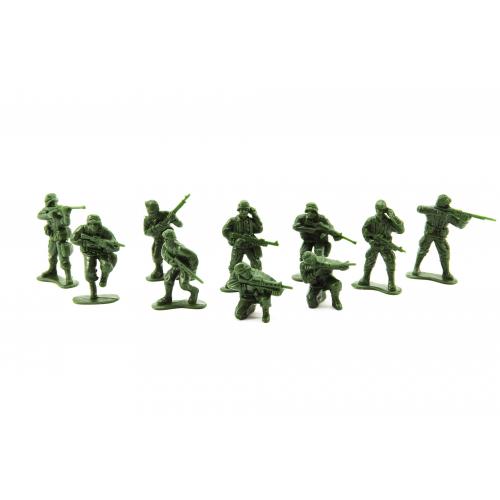 Sada vojáci plast CZ design na kartě 11,5x17cm - Cena : 42,- Kč s dph