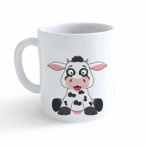 Hrnek Veselá zvířátka - Kráva - Cena : 99,- Kč s dph