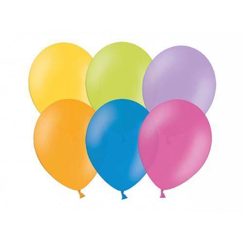 Nafukovací balónky pastelové 27cm - 6 ks - Cena : 19,- Kč s dph